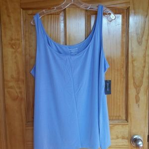 (nwt) Blue & White Lord & Taylor tank tops (2)